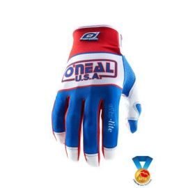 Guanti ONeal Jump Glove Ultra Lite LE83 red/Blue