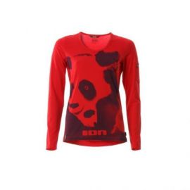 Jersey ION Bike Tee LS Electra Girl Flame Scarlet