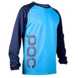 Jersey POC Flow Boron Blue/Tungsten Blue