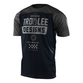 Jersey Troy Lee Designs Super Retro Blu/Orange tg. L 2014 Special Price