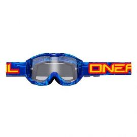 Maschera ONeal B1 RL Goggle Icebreaker Blue/Black