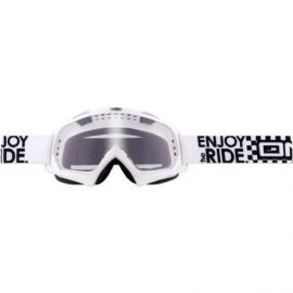 Maschera ONeal B-Flex Goggle  Launch White