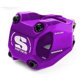 Attacco Manubrio SixPack Menace OS 40mm Viola