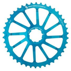 Pignone Wolf Tooth 42T Giant Cog Shimano Blu