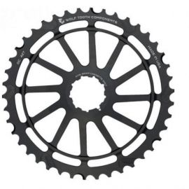 Pignone Wolf Tooth 42T Giant Cog Shimano Nero