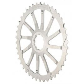 Pignone Wolf Tooth 42T Giant Cog SRAM Argento