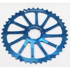 Pignone Wolf Tooth 42T Giant Cog SRAM Blu
