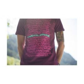 T-Shirt Commencal 100% Cotton Uptown Purple Eggplant