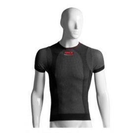 T-Shirt Race Girocollo Manica Corta Grigia