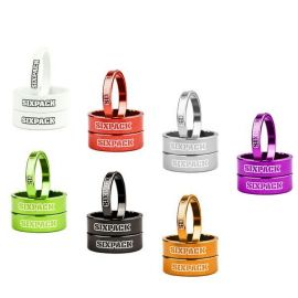 Kit Spessori Sterzo 1-1/8 1x5mm + 2x10mm Nugget Gold