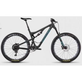 Santa Cruz Bronson C Matte Carbon/Slate Blue Kit S 2017 tg. L Demo-Test