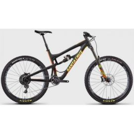 Santa Cruz Nomad C Matte Carbon/Yellow Kit S 2017 tg. M Demo-Test