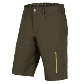 Pantaloni Corti Endura SingleTrack III Short Kelly Green 2017