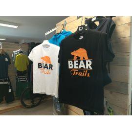 T-shirt Bear Trails White