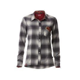 Camicia ION Bike Flanel Shirt LS Violet Girl Nine Iron