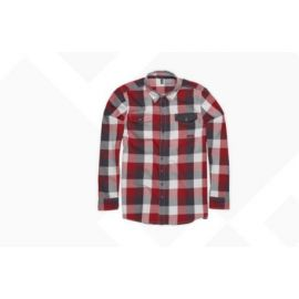 Camicia ION LS Shirt Flannel Anchorage Biking Red