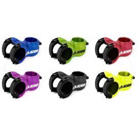Attacco Manubrio SixPack Leader d.31.8 AL6061 5°x70mm Giallo Neon