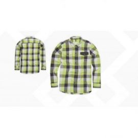 Camicia ION LS Shirt Flannel Anchorage Sharp Green