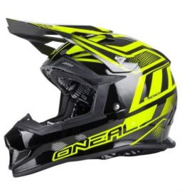 Casco ONeal  EVO Manalishi 2017 Black/Yellow
