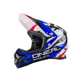Casco Oneal Backflip Fidlock DH Helmet RL2 Shocker Black/Red/Blue 2017