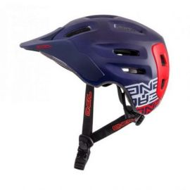 Casco Oneal Defender Helmet Flat Dark Blue/Red 2017
