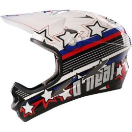 Casco ONeal Fury DH Captn A White/Black Special Price
