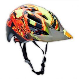 Casco Troy Lee Designs A1 Helmet Galaxy Matte Red