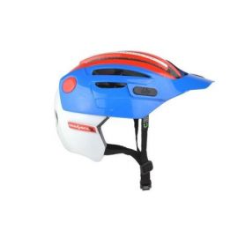 Casco Urge Enduro O-Matic 2 Blue/Red/White
