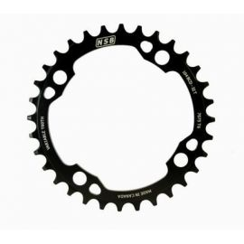 Corona Anticaduta NSB 1X Variable Tooth Chainring 104 BCD