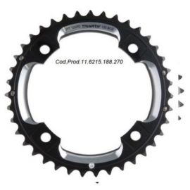 Corona SRAM 2x10 39 Denti X0, X9 per guarniture BB-30 Black (Abbinabile solamente al 26) interasse 120 mm