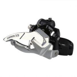 Deragliatore Anteriore SRAM X9 2x10V. 31,8 e 34,9 FB Tiraggio Basso