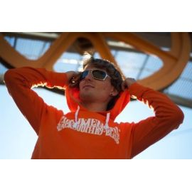 Felpa Commencal 100% Cotton Orange