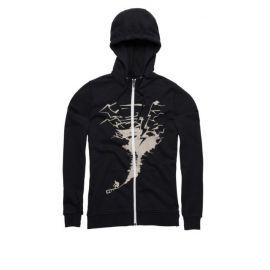 Felpa ION Zip Hoody Stormrider Black