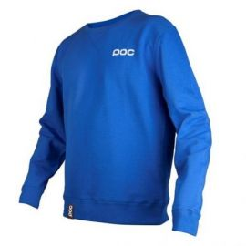 Felpa POC Hood Color Krypton Blue Girocollo