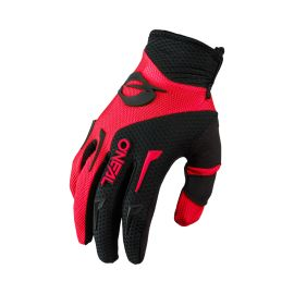 Guanti Oneal Element Youth rosso/nero