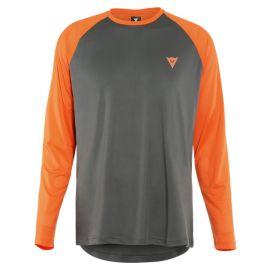 Jersey Dainese Hg Tsingy Ls grigio/arancione
