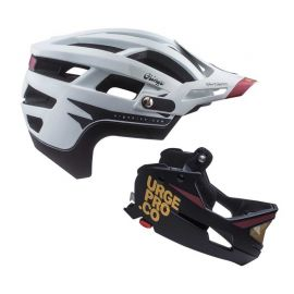 Casco Urge Gringo De La Sierra White/Black