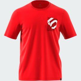 T-Shirt M/C  5.10 Five Ten Botb Red