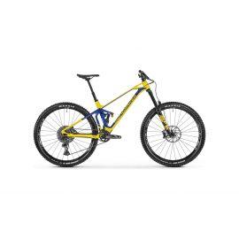 """MTB Mondraker Superfoxy Carbon R 29"""" Tg. Medium 2021 Yellow/Blue"""