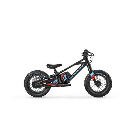 """E-Mtb Mondraker Grommy 12"""" 2021 Black/Blue/Red"""
