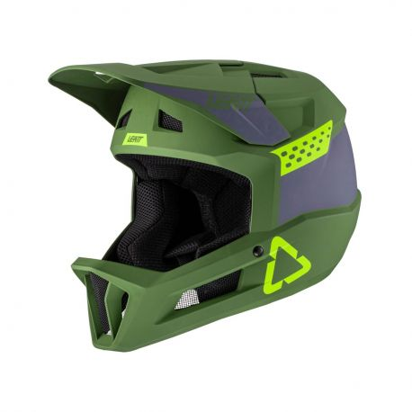 Casco Integrale Leatt DBX 1.0 DH V21.2 Cactus