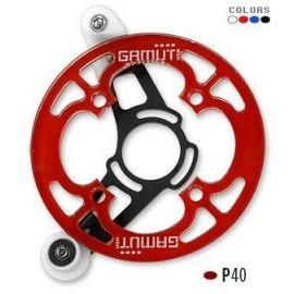 Guida catena Gamut P40 ISCG Rosso