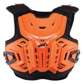 Pettorina Leatt Chest Protector 4.5 Junior Orange/White
