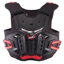 Pettorina Leatt Chest Protector 4.5 Junior Black/Red