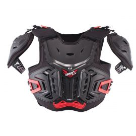 Pettorina Leatt Chest Protector 4.5 Pro Junior Black/Red