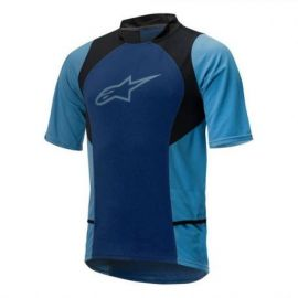 Jersey Alpinestars Drop 2 SS Blu Stratos Acqua