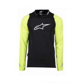 Jersey Alpinestars Drop L/S Black/Yellow fluo