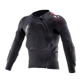 Pettorina Leatt Body Protector 3DF AirFit Lite Junior Black/Grey