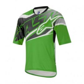 Jersey Alpinestars Sight SS Green/Grey