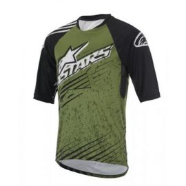 Jersey Alpinestars Sight SS Mercury Military Green